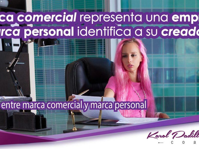 Diferencia entre marca comercial y marca personal